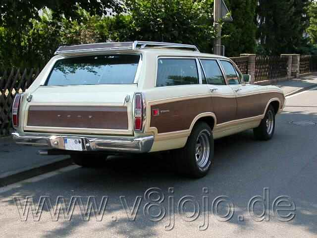1970 Ford Torino Country Squire Station Wagon