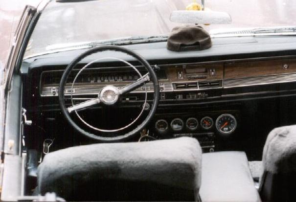 1967 Chrysler Newport Convertible inside