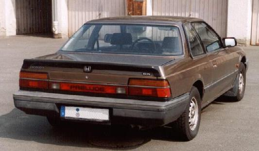 1983 Honde Prelude Coupe AB