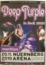 Deep Purple Nürnberg 2010