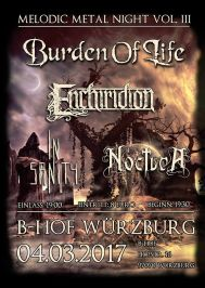 Melodic Metal Night III Würzburg