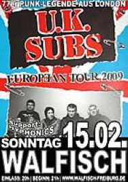 Hyphonics & UK Subs Freiburg 2009