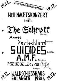 The Suicides, Waldschiesshaus Erlangen
